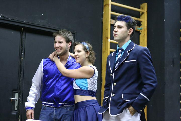Olympos High School - Czupi Dániel, Makra Viktória, Márkus Sándor
