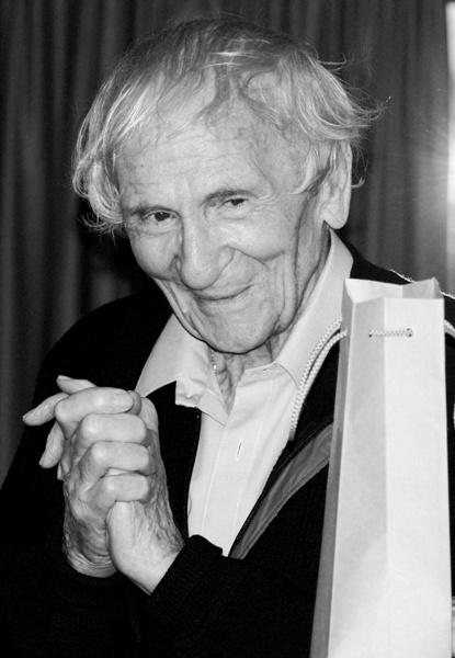 A 89 éves Kenderesi Tibor