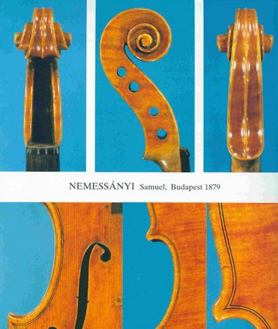 Nemessányi hegedűcsigák, f nyílás és illesztés