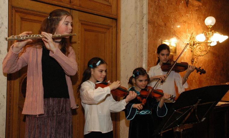 Gyerekek a Magyar Állami Operaházban