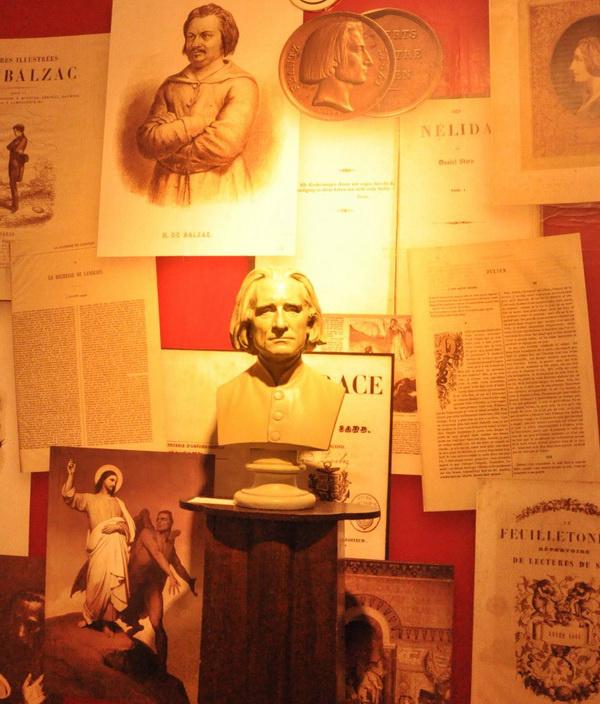 Liszt és a társművészetek kiállítás