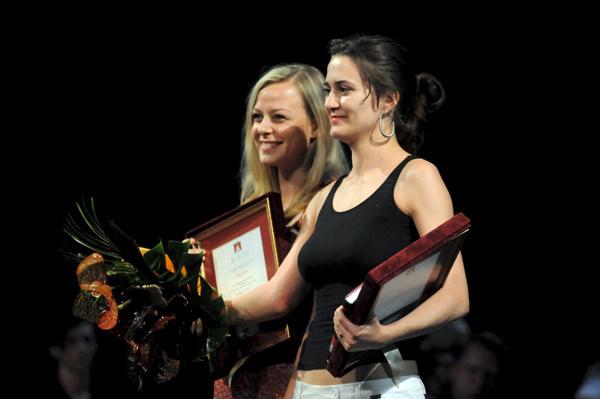 Béres Márta és Erdély Andrea - POSzT díjkiosztó