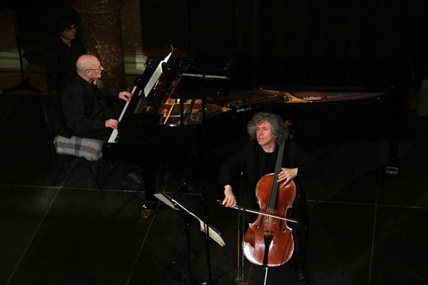 Rados Ferenc és Steven Isserlis