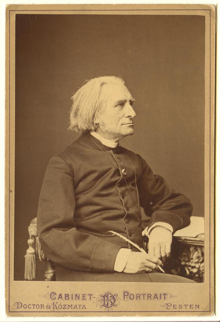 Liszt akkoriban, amikor Sipka Miska volt az inasa