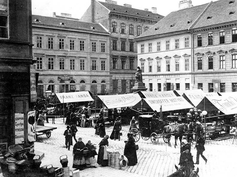 A Hal tér Liszt korában