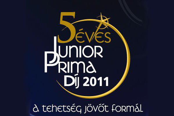 Junior Prima Díj 2011