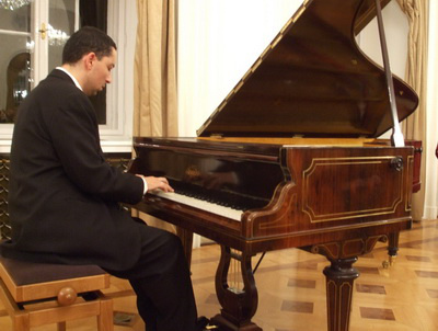 Balog József és az Erard zongora