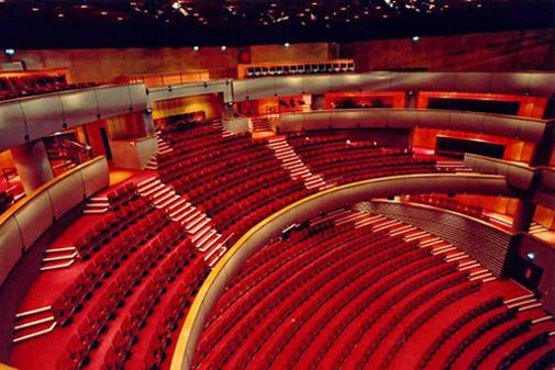 Saint-Etienne Operaház belülről