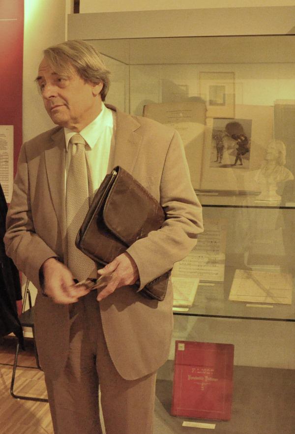 Szegedy-Maszák Mihály a 'Liszt és a társművészetek' c. konferencián