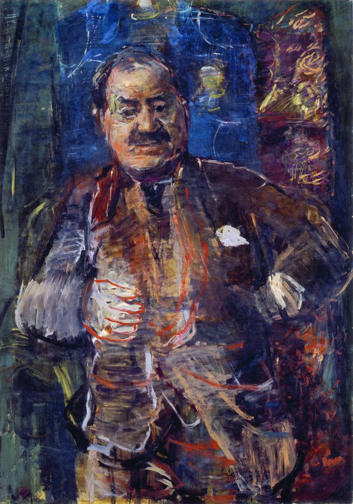 Oskar Kokoschka_Portrait of Marcell Nemes
