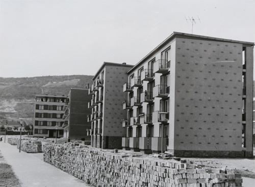 Korszerű lakás, 1960 (Kiscelli Múzeum archív képe a lakótelepről)