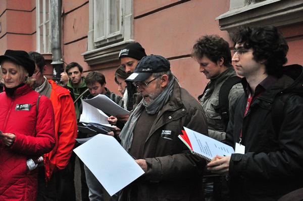 Fodor Tamás - aznemlehet-petíció - Városháza
