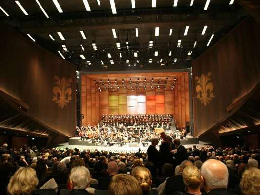 A firenzei Opera új előadóterme