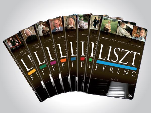 Liszt Ferenc élete DVD