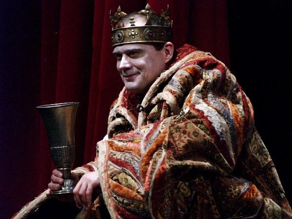 János király - Debreczeny Csaba (Örkény Színház - fotó: SzoFi)
