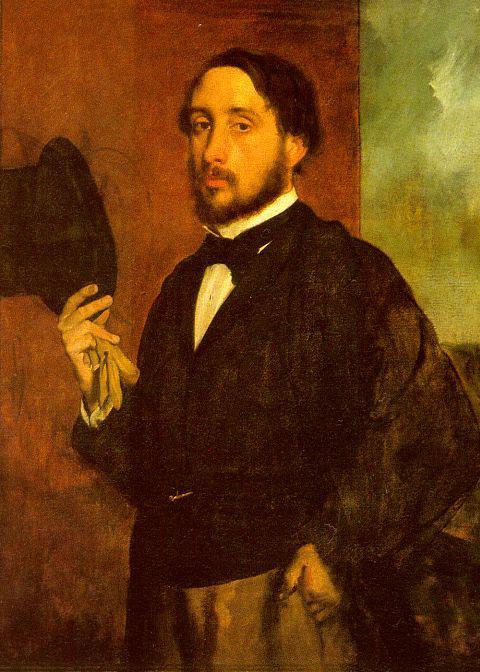 Edgar Degas: Önarckép