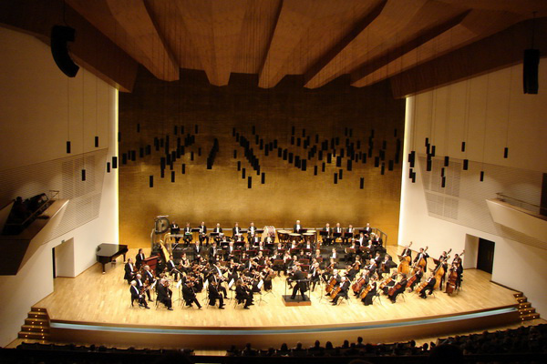 Kocsis Zoltán és a Nemzeti Filharmonikusok Spanyolországban