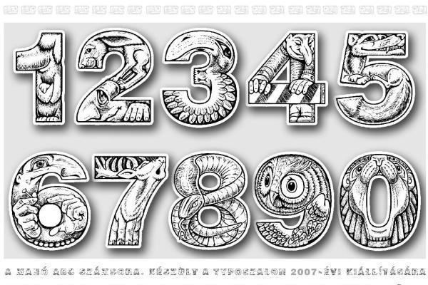 Merczel Péter: Manó ABC számok (ABCések 1975/2012)