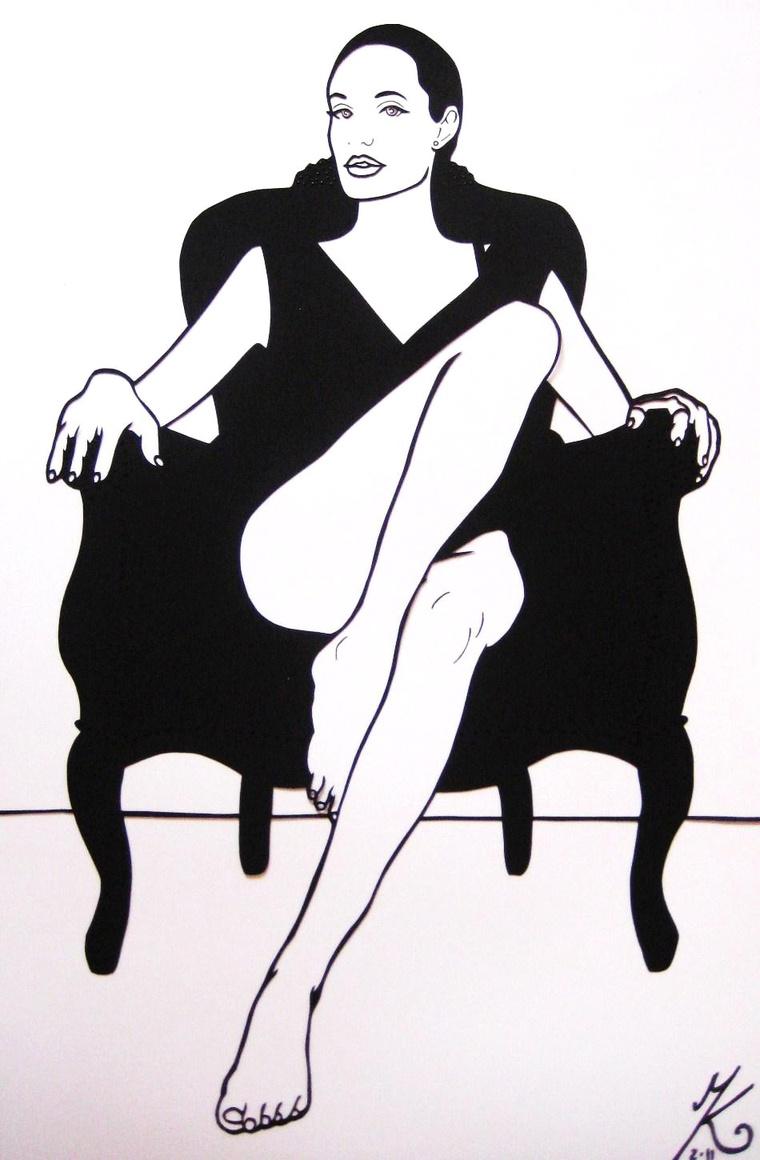 Mózes Katinka: Angelina