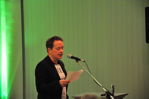 Geszti Péter a Szünet nélkül! - a magyar kultúra érdekében című konferencián