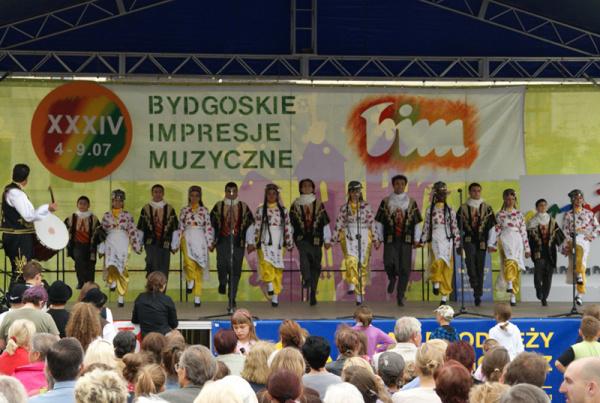 Bydgoszcz zenei fesztivál