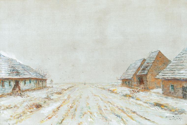 Mednyánszky László: Tél