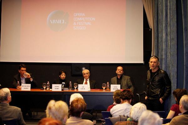Armel Operaverseny 2012 - sajtótájékoztató