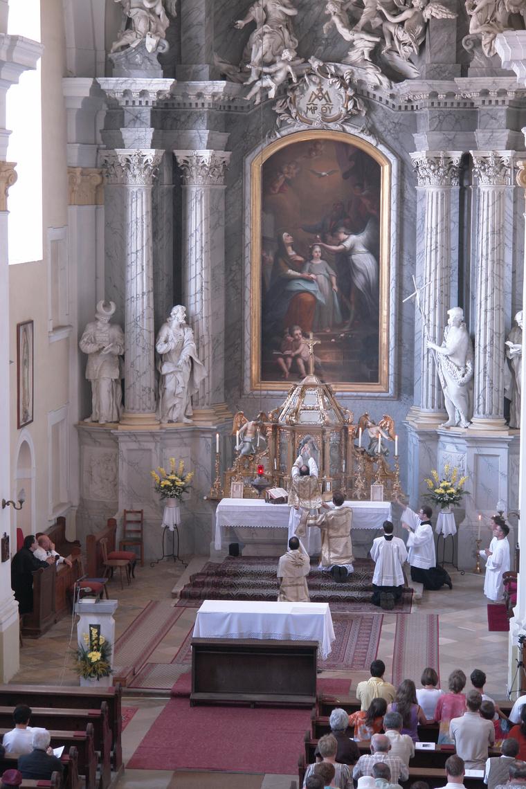 Barokk mise a 2009–es Börzsöny Barokk Napokon