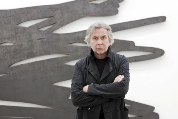 Bernar Venet - A művész a GRIB sorozattal, 2011