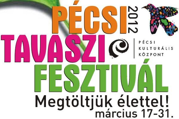 A 2012-es Pécsi Tavaszi Fesztivál logója