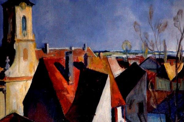 A képpé formált város - a szentendrei festők őstémái (MűvészetMalom, Szentendre)