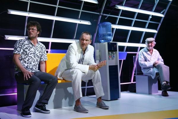 A Nemzeti Színház 2010/2011-es évada - Jeremiás avagy az Isten hidege - Stohl András, László Zsolt, Garas Dezső