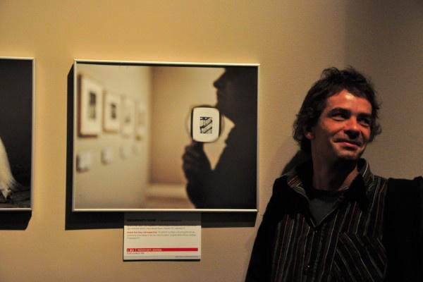XXX. Magyar Sajtófotó Kiállítás - díjátadó és megnyitó (Kecskeméti Dávid nyertes fotójával)
