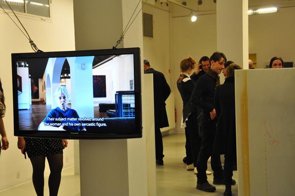 Vasarely go home, Andreas Fogarasi kiállítása - Trafó