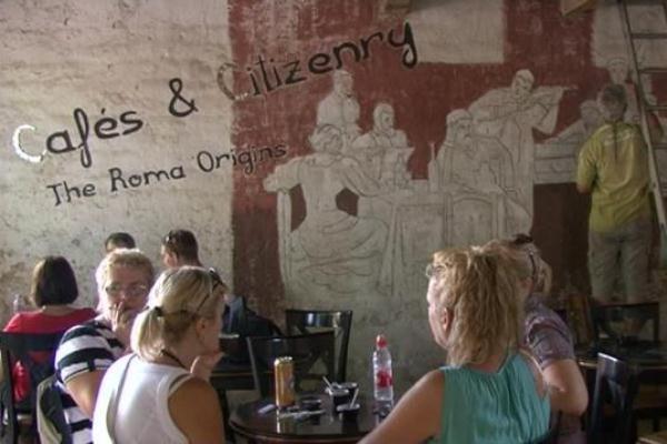 Cafés & Citizenry: The Roma Origins projekt