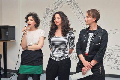 Portfolio zsűri: Klementz Kata, Winkler Nóra, Aknai Katalin