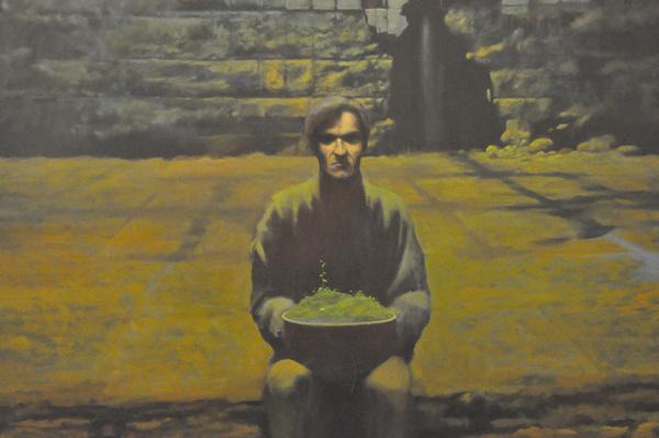 Hermann Levenete Zónák c. kiállítása - Zsolnay Negyed - Pécsi Galéria kiállítótere - M21