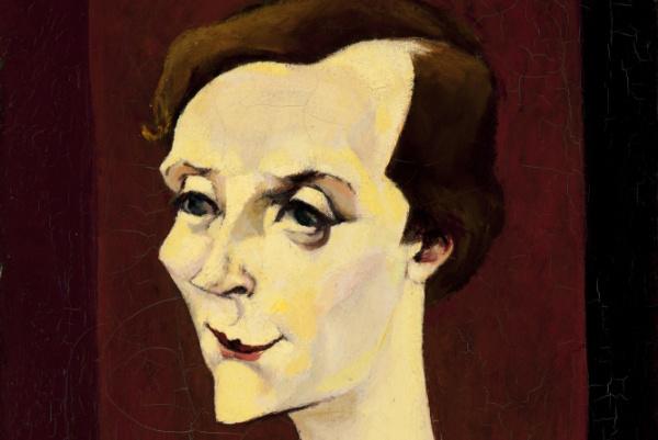 Tihanyi Lajos: Cecile, 1929 (részlet) (Nyolcak)