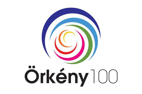 Örkény 100 logo