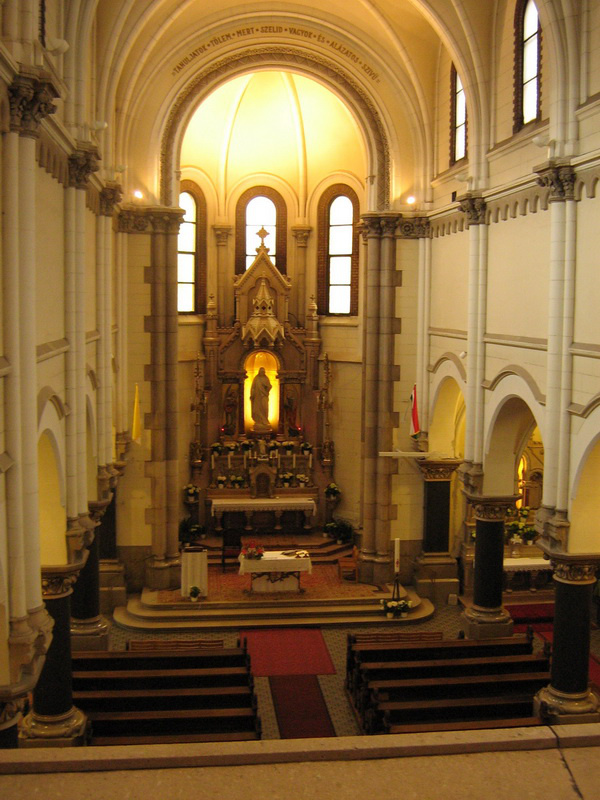 Jézus szíve jezsuita templom, Mária utca 25.