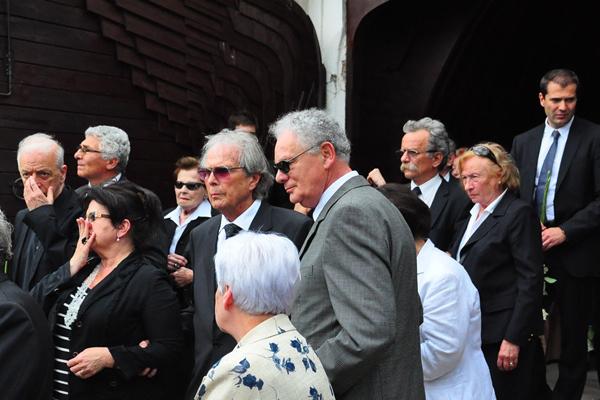 Seregi László temetése