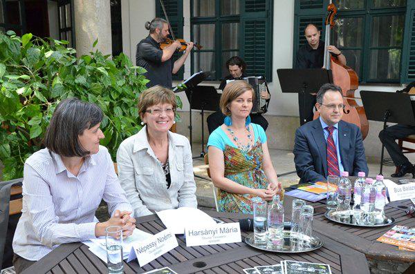 Óbudai Nyár 2012 sajtótájékoztató