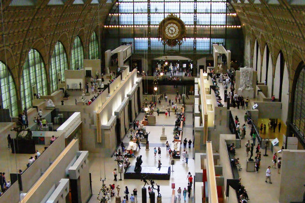 Musée d'Orsay épület (Párizs) - forrás: Wikipédia