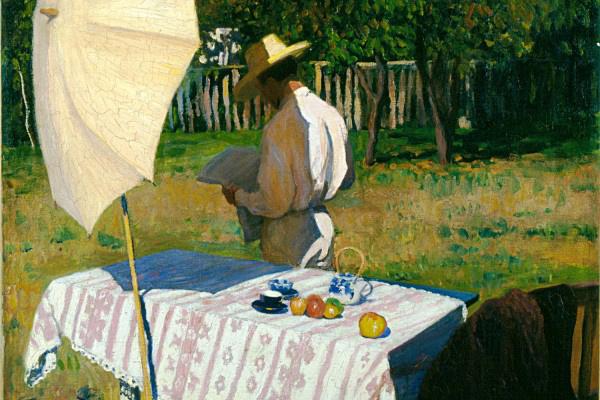 Ferenczy Károly: Október (részlet) - Magyar Nemzeti Galéria