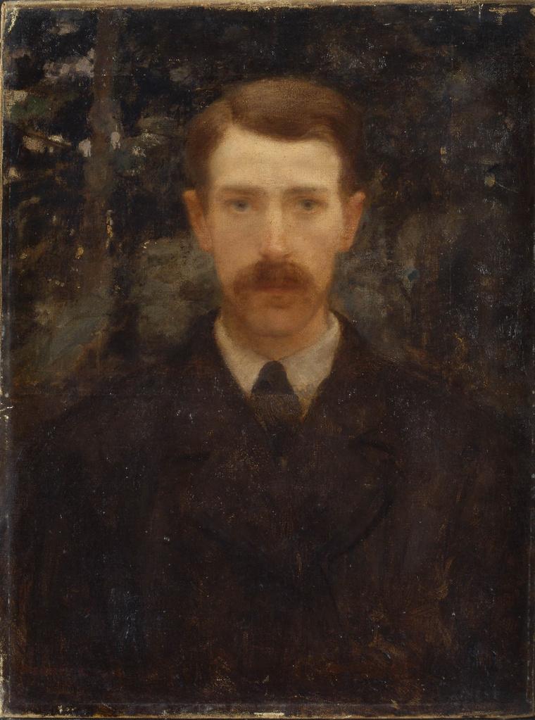 Ferenczy Károly_Önarckép