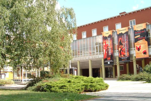 A Hevesi Sándor Színház épülete Zalaegerszegen