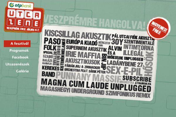 Veszprémi Utcazene Fesztivál 2012
