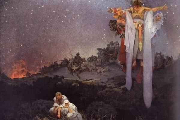 Alfonz Mucha: Szlávok az őshazában