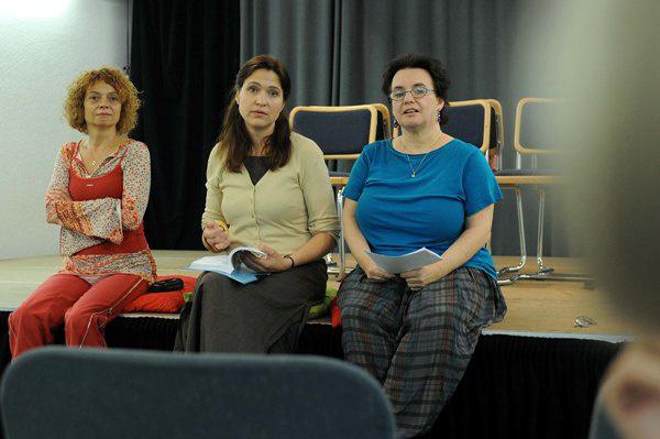Valaki jön majd - A dramaturgok és a fordító itt van: Hársing Hilda, Domsa Zsófia, Faragó Zsuzsa - Pécsi Országos Színházi Találkozó - 8. nap