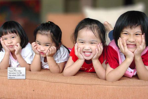 Ázsiai gyerekek